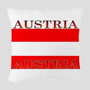 Austria Woven Throw Pillow