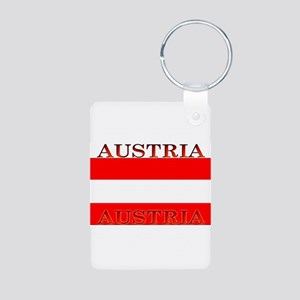 Austria Aluminum Photo Keychain
