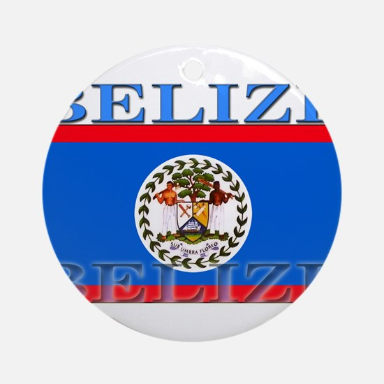 Belize.png Ornament (Round)