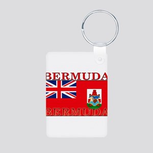 Bermuda Aluminum Photo Keychain