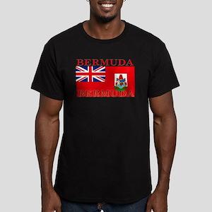 Bermuda Men's Fitted T-Shirt (dark)