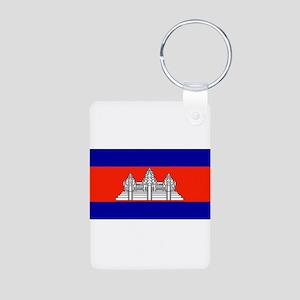 Cambodiablank Aluminum Photo Keychain