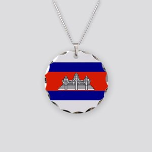 Cambodiablank Necklace Circle Charm