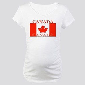 Canada Maternity T-Shirt