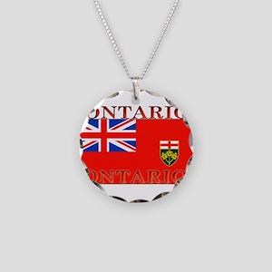 Ontario Necklace Circle Charm