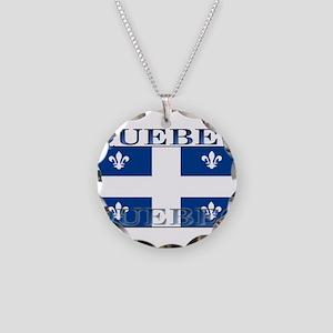 Quebecblack Necklace Circle Charm