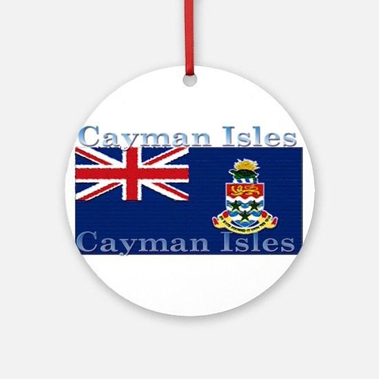 CaymanIsles.jpg Ornament (Round)