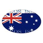 CocosIsles Sticker (Oval 10 pk)
