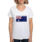 CocosIsles Women's V-Neck T-Shirt