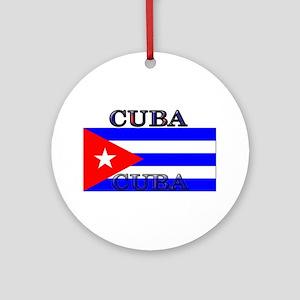 Cubablack Ornament (Round)