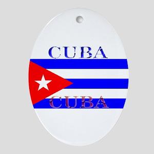 Cubablack Ornament (Oval)