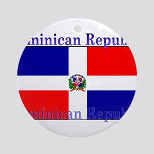 DominicanRepublic Ornament (Round)