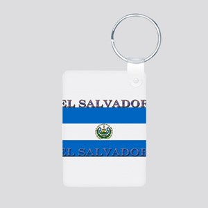 ElSalvador Aluminum Photo Keychain