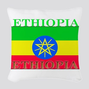 Ethiopia Woven Throw Pillow