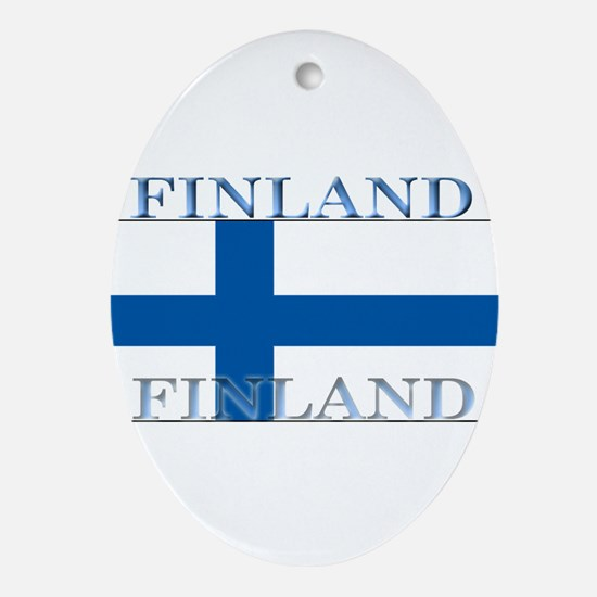 Finland.jpg Ornament (Oval)