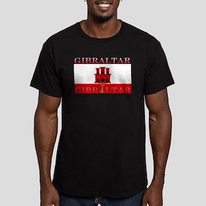 Gibraltar Men's Fitted T-Shirt (dark)