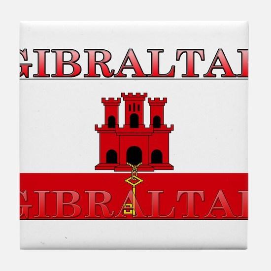 Gibraltar.jpg Tile Coaster