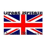 GreatBritain 35x21 Wall Decal