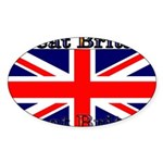 GreatBritain Sticker (Oval 50 pk)