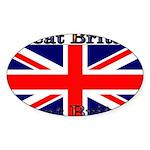 GreatBritain Sticker (Oval 10 pk)