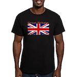 GreatBritain Men's Fitted T-Shirt (dark)
