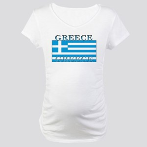 Greeceblack Maternity T-Shirt