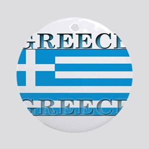 Greeceblack Ornament (Round)