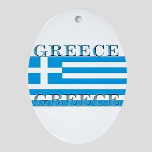 Greeceblack Ornament (Oval)