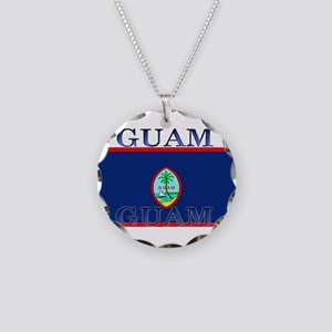 Guam Necklace Circle Charm