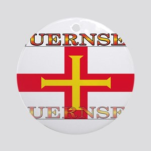 Guernsey Ornament (Round)