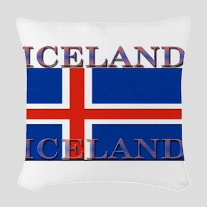 Iceland Woven Throw Pillow