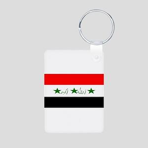 Iraqblank Aluminum Photo Keychain