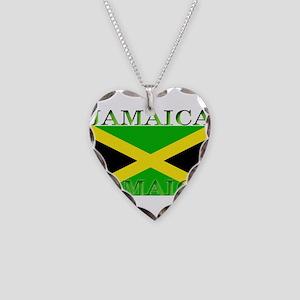 Jamaica Necklace Heart Charm