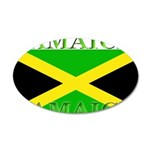 Jamaica 35x21 Oval Wall Decal
