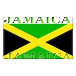 Jamaica Sticker (Rectangle 50 pk)