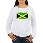 Jamaica Women's Long Sleeve T-Shirt