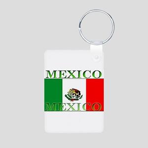 Mexicoblack Aluminum Photo Keychain