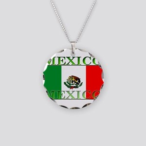 Mexicoblack Necklace Circle Charm