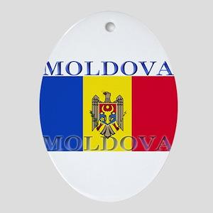 Moldova Ornament (Oval)