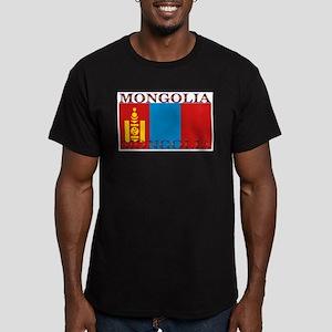 Mongolia.jpg Men's Fitted T-Shirt (dark)