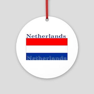 Netherlandsblack Ornament (Round)