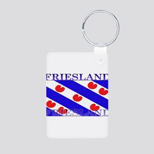 Frieslandblack Aluminum Photo Keychain