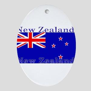 NewZealandblack Ornament (Oval)