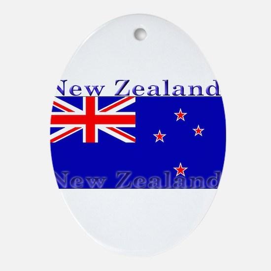 NewZealandblack.png Ornament (Oval)