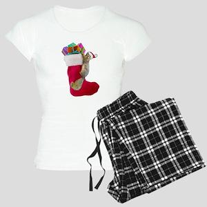 Squirrel Stocking Women's Light Pajamas