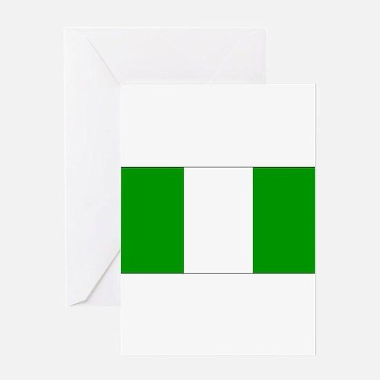 Nigeriablank.jpg Greeting Card