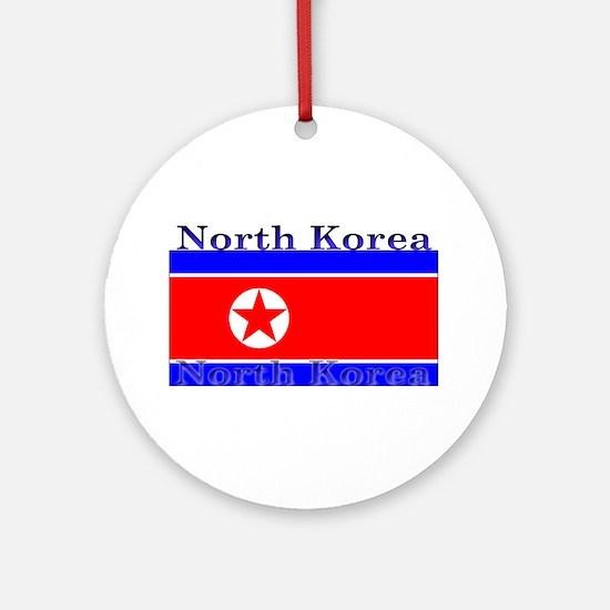 NorthKorea.jpg Ornament (Round)