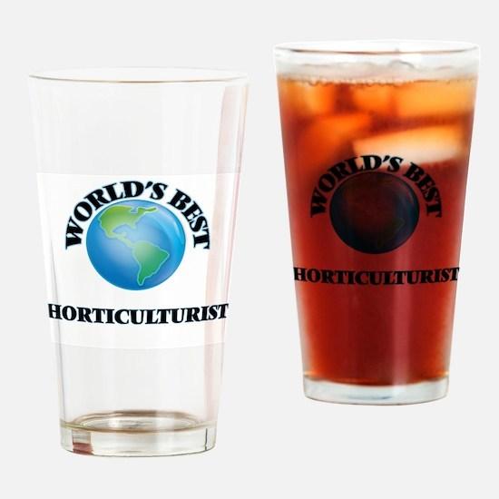 World's Best Horticulturist Drinking Glass