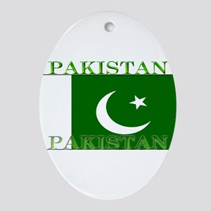Pakistan Ornament (Oval)