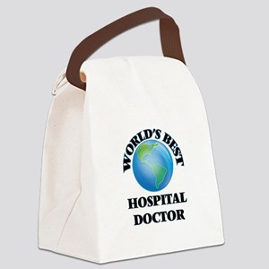 World's Best Hospital Doctor Canvas Lunch Bag